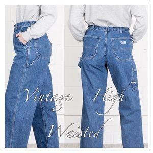 VTG Ralph Lauren Polo Women's Carpenter Jeans HOT